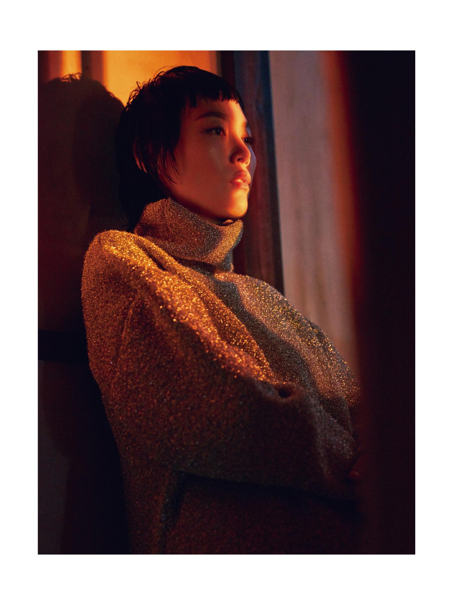 Rinko Kikuchi Madame Figaro Chine Jumbo Photographe